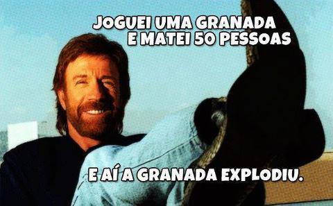 Porque Chuck Norris é Foda