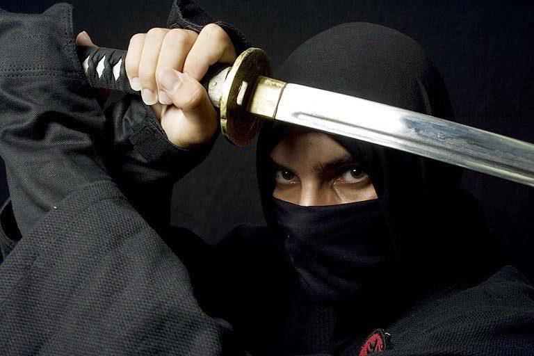 Segredo milenar da arte ninja, é revelado!