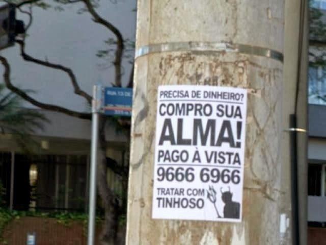 Compra de alma dá o que falar em Campo Grande (MS)