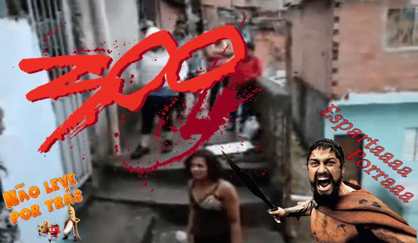 Esparta versão favela