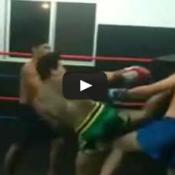O que acontece quando um cara que Briga enfrenta um que Luta?