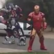 Iron man vs Transformers a batalha do século