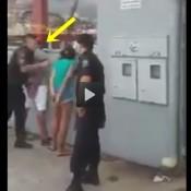 Policial salva mulher de picada do mosquito da dengue