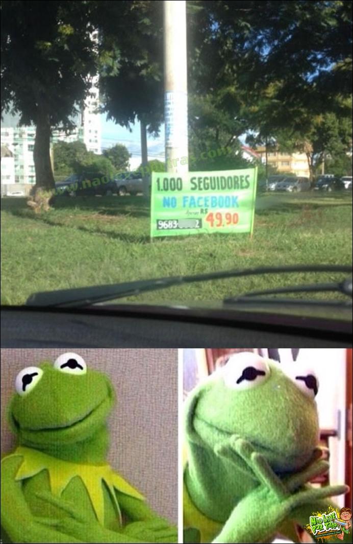 curtidas do face vendidas na rua