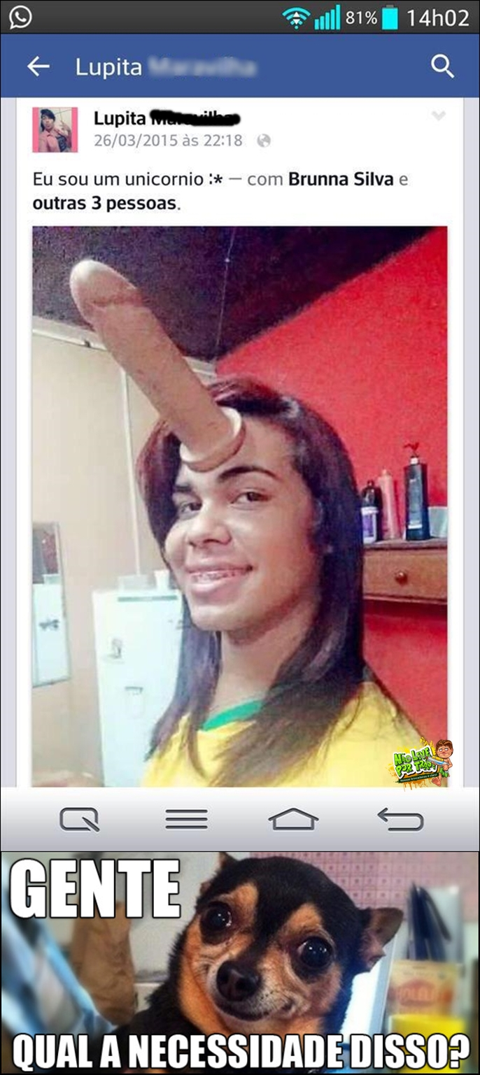 vergonha no facebook