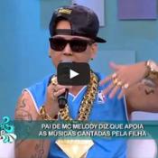 Pai de MC Meloody causa Polêmica no palco do Super Pop