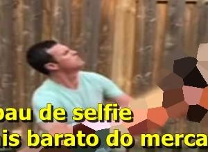 pau de selfie barato face