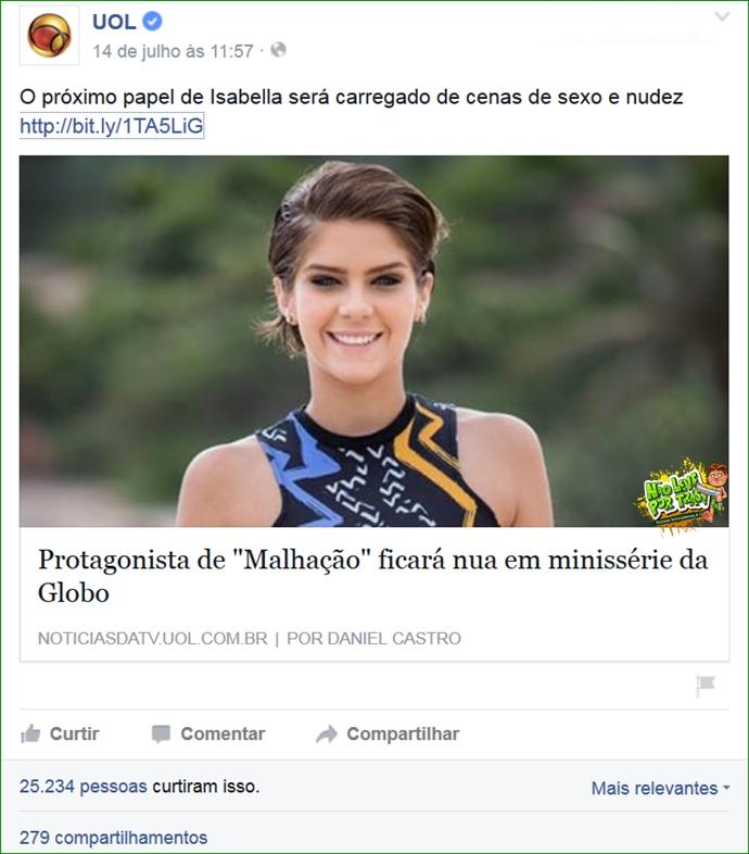 protagonista reveleção de malhação 2015