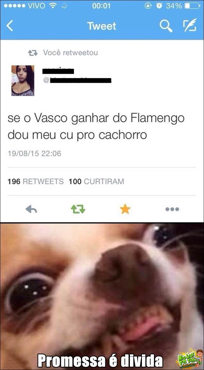 Vasco x Flamengo no Maracanã