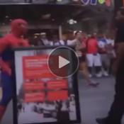 O dia em que o Homem Aranha perdeu a cabeça e saiu na mão com um civil