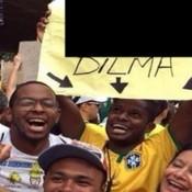 A melhor imagem da manifestação de domingo contra a Dilma