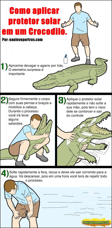 como-aplicar-protetor-solar-em-um-crocodilo