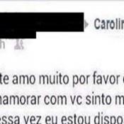 Pedindo pra voltar com a Carol