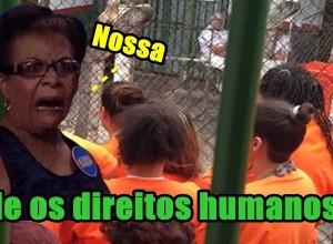 Andressa Urach visita presídio face