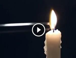 truque com velas