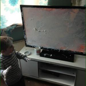 Aquele momento que o seu filho estraga o seu Dia