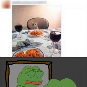 jantando com a ganta