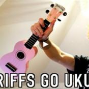 100 Rifs famosos de guitarra, tocados com um violãozinho de brinquedo