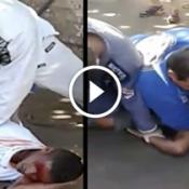 Os cara foram assaltar perto de uma academia de Jiu-jitsu e deu nisso!