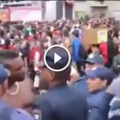 Negão metido a Lutador tentou intimidar a policia e tomou no toba