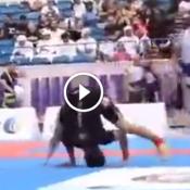 Estrategia bizarra no campeonato de Jiu-jitsu