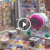 No Japão as maquininhas de pegar brinquedos são mais FDP do que as daqui