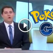 Vivi pra ver o Evaristo falando sobre Pokémon Go