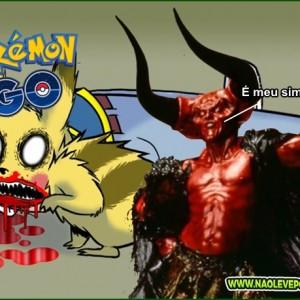 pokemon go é do capeta