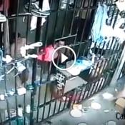 Todo cuidado é pouco ao alimentar presos em uma cadeia no Br