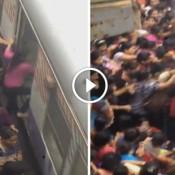 Como é pegar um trem na hora do rush na Índia