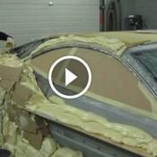 Ele transformou uma velha Mercedes em um fudendo carro esportivo