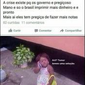 Uma solução simples pra crise no Brasil