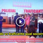 Programa Fátima Bernardes, policial ferido vs traficante qual socorrer primeiro?