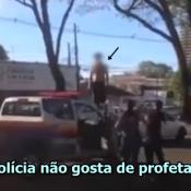 Guarda Municipal do Paraná interrompe profecia da 3ª Guerra mundial, usando arma de choque