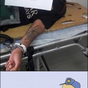 salvar o policial