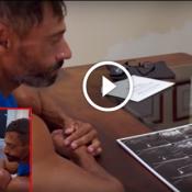 Médicos estrangeiros examinam Valdir Anomalia