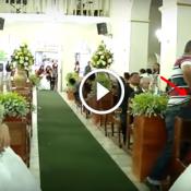 Homem invade casamento e atira em convidados