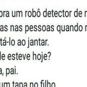 Robô detector de mentiras