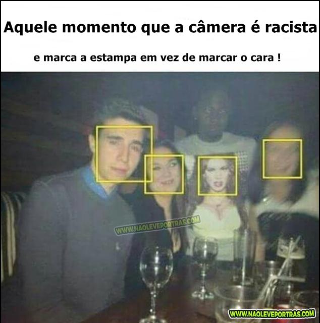 câmera racista