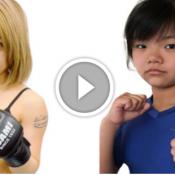 Menina de 12 anos enfrentará adulta de 24 em evento de MMA Japonês
