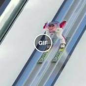 O maior salto de esqui já registrado