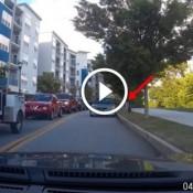 O caso da mulher piloto de fuga, que resolveu furar uma fila de trânsito gigante na contra mão