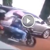 É por isso que não vemos mulheres assaltantes de moto por ai !