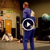 O dia em que o bombado passou vergonha na academia de Jiu-jitsu
