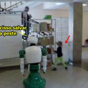 O robô mais camarada que você verá hoje