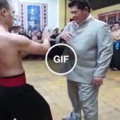 """O mestre de kung-fu mais """"fueda"""" que você verá hoje!"""