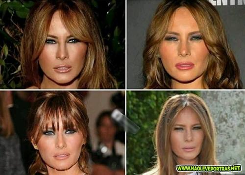 Sempre desconfiei da mulher do Trump