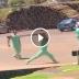 Enfermeiros brigando