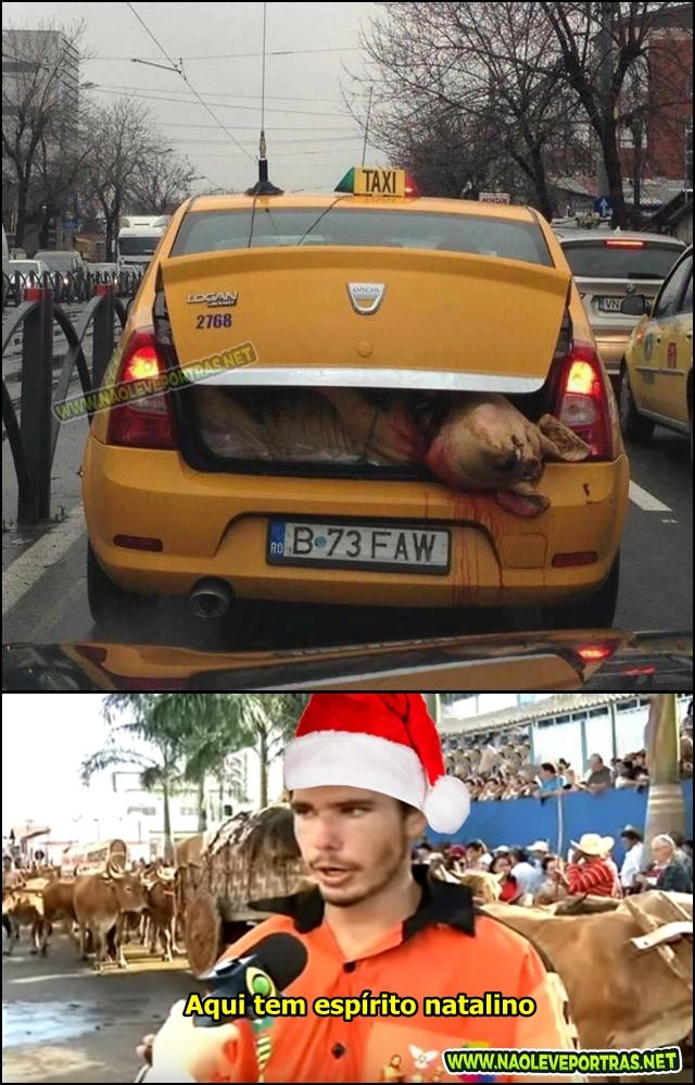 espirito natalino meme
