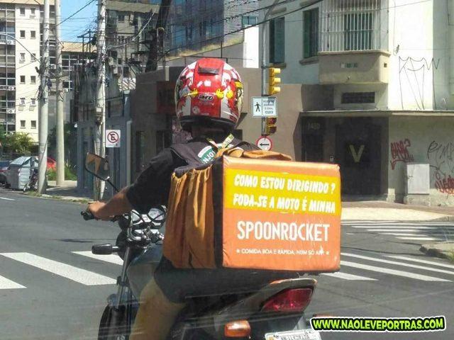 motoqueiro da audacia humor